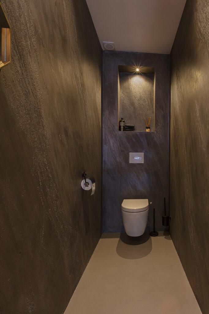 Ontwerp op maat, toilet